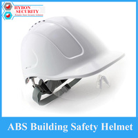 ABS Glazed Steel Building Site Safety Helmet With Glasses Anti Smash Breathable Construction Site Work Hard