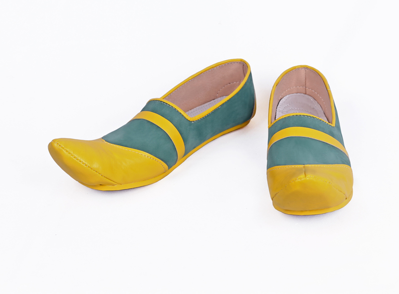 Hot Cakes The Legend of Zelda Link Gerudo Cosplay Shoes Hand Made Accessories