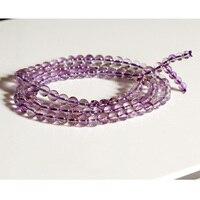 Wholesale Genuine Natural Mix Color Super 7 Seven 3 Times Bracelet 108 Buddhism Beads Prayer Mala