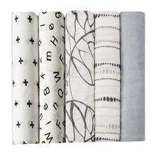 Infant Muslin Bamboo Fiber Newborn aden Bath Towel summer Swaddling Blankets Multi Designs Functions Baby bedding Wrap swaddle