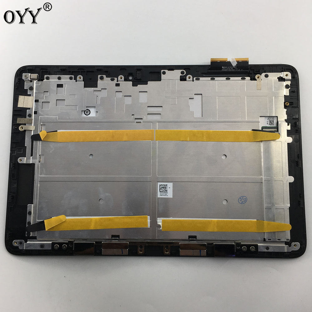 10.1 inch LCD Display Touch Screen Panel Digitizer Frame Assembly For ASUS Transformer Book T100H T100HA FP-ST101SI010AKF-01X 10 1 inch lcd display touch screen panel digitizer frame assembly for asus transformer book t100h t100ha fp st101si010akf 01x