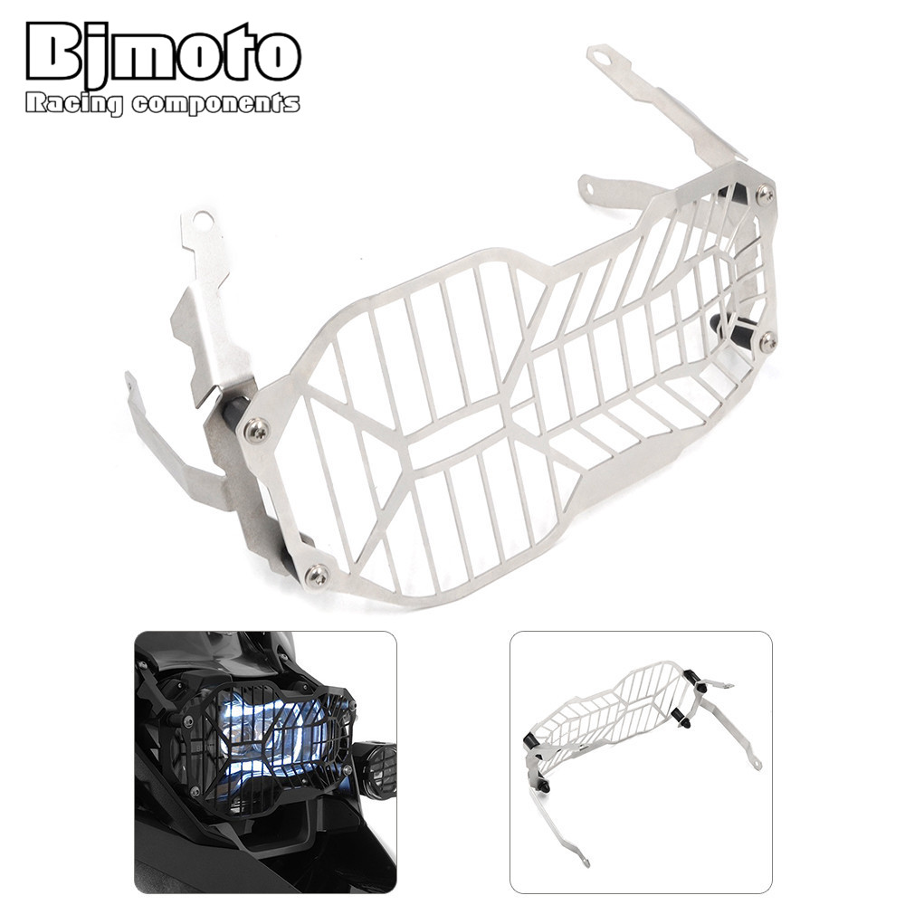Bjmoto Motor Headlight Guard Protector headlamp cover guard For BMW R1200GS Water Cooled 2013-2016 R1200GS Adventure 2014-2016 free shipping soft motor cover cap motor guard protector for dji mavic pro