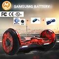 Горячие Продажи samsung батареи segway 10 дюймов Электрические Скутеры Балансируя Скутеры Два Колеса Умный Стоячей hoverboard Скейтборд