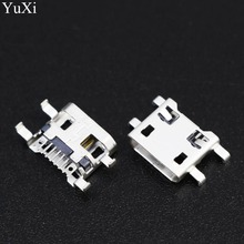 YuXi 50X Wholesale Micro USB Jack Connector Charging Socket for Teclast X89 X80HD X16HD P79HD P89S mini P90 X98 air Tablet PC цена 2017