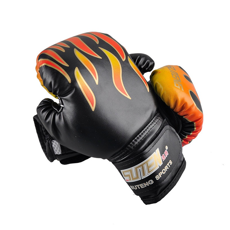 Children Boxing Gloves Mma Karate Ufc Guantes Kick Boxing Equipment 3-12years