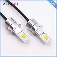2pcs H3 LED Bulb COB Chip White 1500LM Car Led Lights Fog Head Lamp Auto Lamp 9~32V 6000K