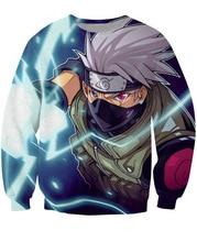 2017 S-5XL Creative 3D Print sweatshirts Naruto Hatake Kakashi Men Sweatshirt Pullover Fashion Wear  07