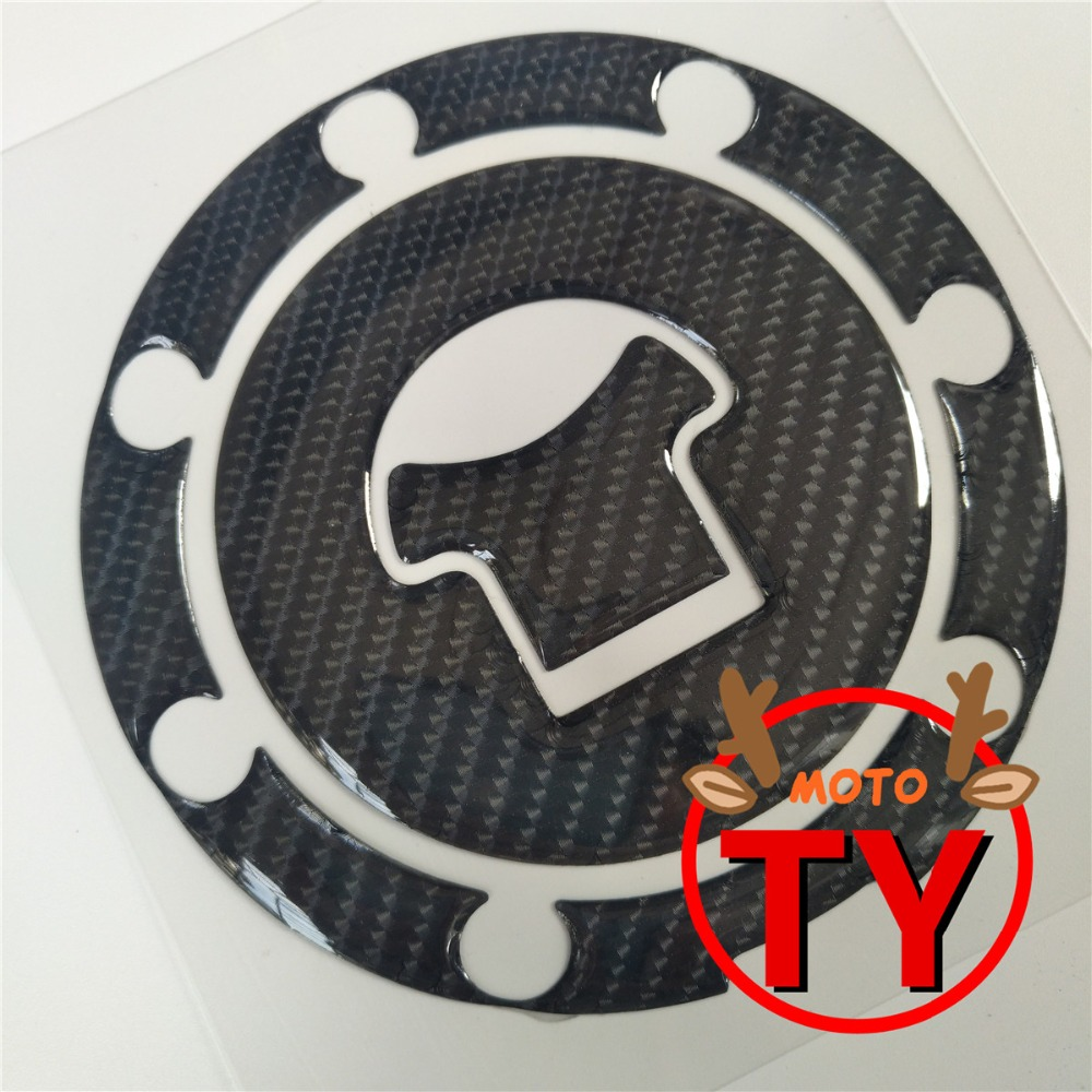 Motorcycle Fuel Tank Pad Gas Oil Cap Cover Sticker Decal Protector Carbon For Honda CBR RVF VFR CB400 CB1300 CBR1000RR CBR600R