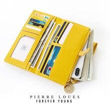 Винтажный кошелек женский кошелек, клатч, сумка желтая из твердой кожи, Женский конверт на молнии, роскошная брендовая вечерняя сумка, женская сумочка Torebki Damskie