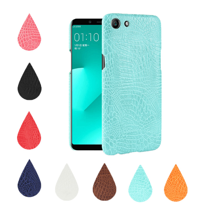 Leather Case for OPPO A83 Phone Bumper Fitted Case for Oppo A 83 Cover