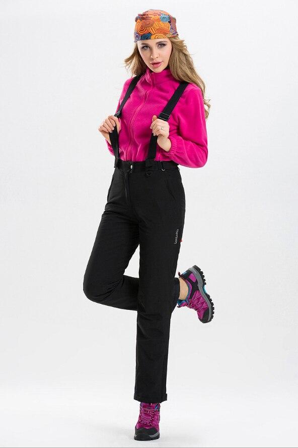 Pantalon de Ski chaud imperméable à l'eau 2018 pantalon de Sports de plein air d'hiver pantalon de Ski coloré de haute qualité pantalon de Snowboard solide de grande taille