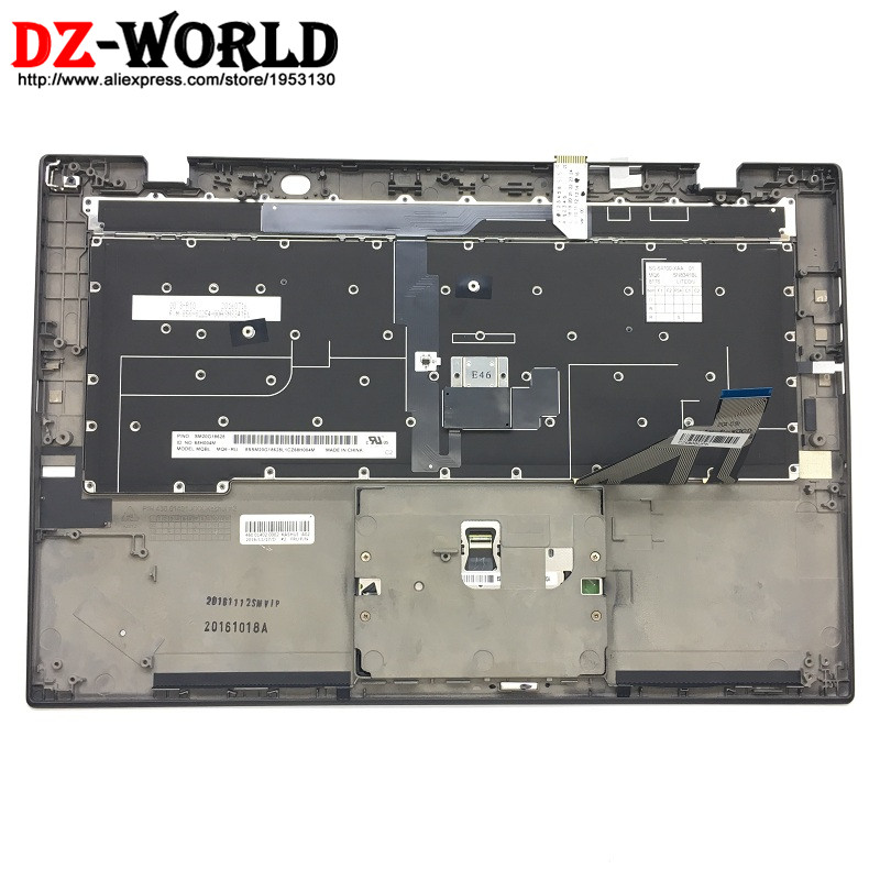 New/Orig for Thinkpad X1 Carbon 3rd 20BS 20BT Russian Backlit Keyboard Teclado with Palmrest Touchpad 00HT323 00HN968 SM20G18628