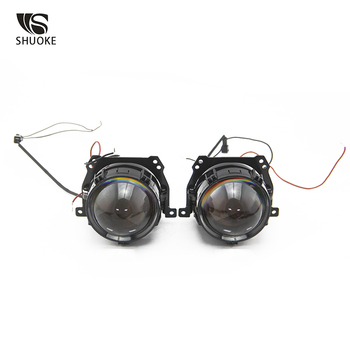 цена на SHUOKE New Arrival Mi Bi-LED Lens Projector Lens 2 Light Mode 12V 3A 36W 6000K 5500LM Per Lens 50000h Life 1 sets Free Shipping