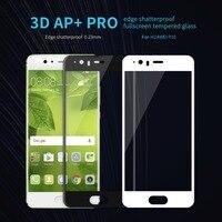 Nillkin huawei p10 plus 3D ARC 0.23mm pełna pokrywa AP + Pro Anti-Explosion Ekran Dotykowy Szkło Hartowane dla huawei p10 Protector