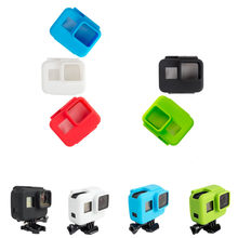 2017 New Camera Accessories Silicone Case Cover Mount For Gopro Hero 5 hero 6 Camera Mounts(China)