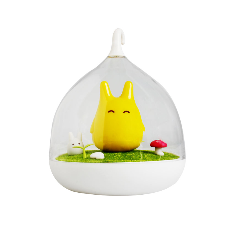 Newest Design Night Lamp Totoro Cute Portable Touch Sensor USB LED Lights For Baby Bedroom Sleep