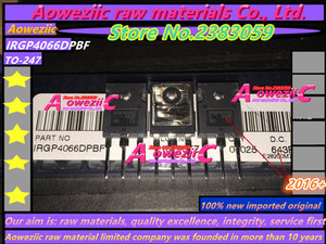 Image 5 - Aoweziic   2017+ 100% new imported original  IRGP4066DPBF  IRGP4066D  TO 247 IGBT power transistor 90A 600V