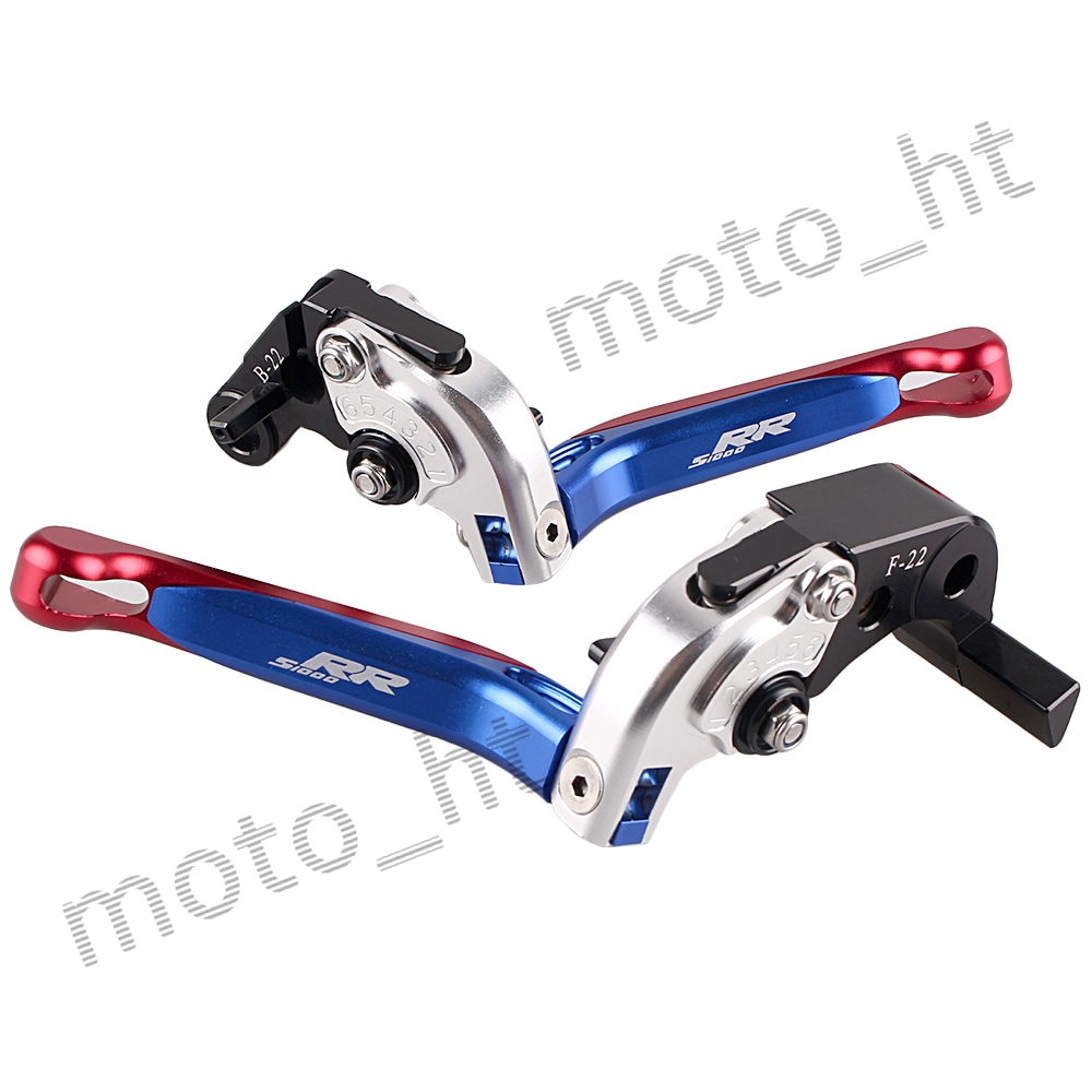 ФОТО CNC Aluminum Brake Cutch Levers Set For BMW S1000RR 2010 2011 2012 2013 2014 Adjustable