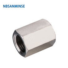 10Pcs/Lot BA Transition Fitting Pneumatic Air Quick Coupling Push Fittings Connect Coupler Sanmin