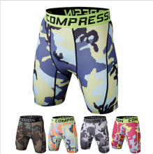 Free shipping Newest Summer Army Compression Tights Shorts Men Spandex Quick Dry  Shorts  Wear High quality and comfortable