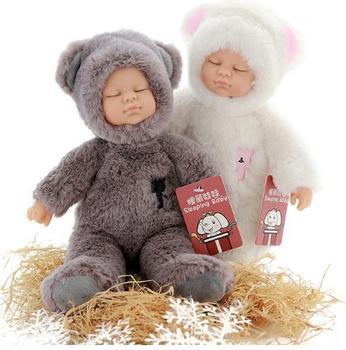 Kawaii Детские куклы и мягкие ПВХ детские плюшевые игрушки для девочек Рождество подарок высокое качество BJD Bebe Кукла Reborn Baby Born игрушки