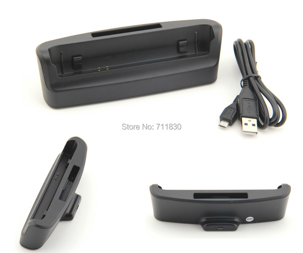 M36H Battery Charger For Sony Xperia ZR BA950 SO-04E C5502 C5503 DK28 Data Sync Desktop Dual Dock Station