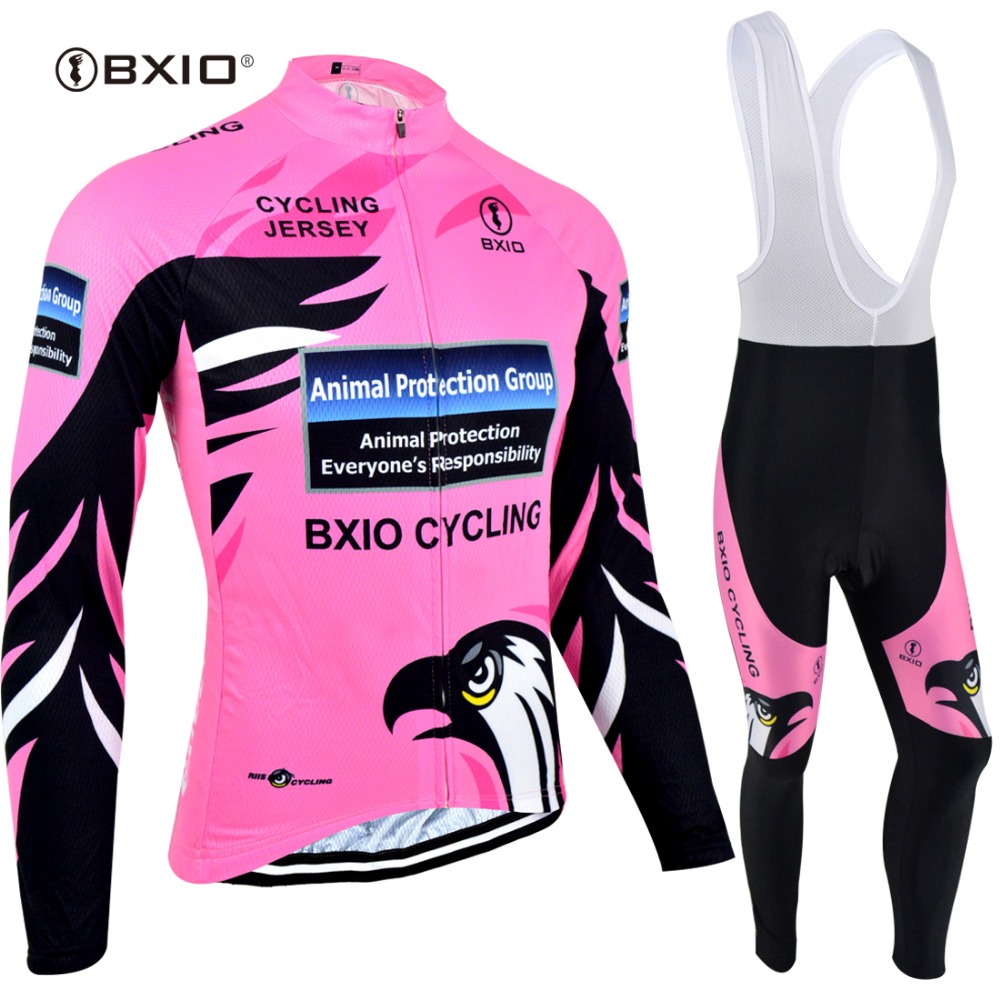 BXIO Winter Thermal Fleece Maillot Cycling Jerseys Sets Bicycle Wear/cycling Ropa Ciclismo Bike Sportswear Clothing BX-0109R067 цена