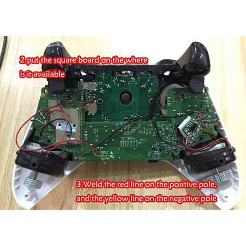 DIY Wireless Game Handle Repair Parts For PS4 For XBOX ONE Controller LED Light Board