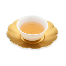 New Handmade Teapot Trays Aluminum Plate Pad Tea Ware Trivets Table Heat Resistant Protector Tools