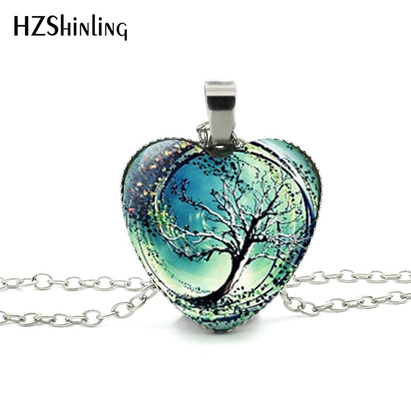 2016 New Divergent Heart Necklace Divergent Tree Pendant s