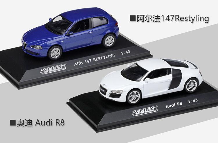 Mobil Olahraga 1:43 Model 10