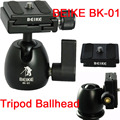 New Beike BK-01 360 Degree Rotate Tripod Monopod Ball Head with Quick Release Plate