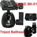 Nova Beike BK-01 de 360 grau girar tripé monopé bola cabeça com placa de liberação rápida