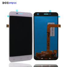 цена на For Jinga Basco M500 3G 4G LCD Display Touch Screen Digitizer Assembly Repair Parts