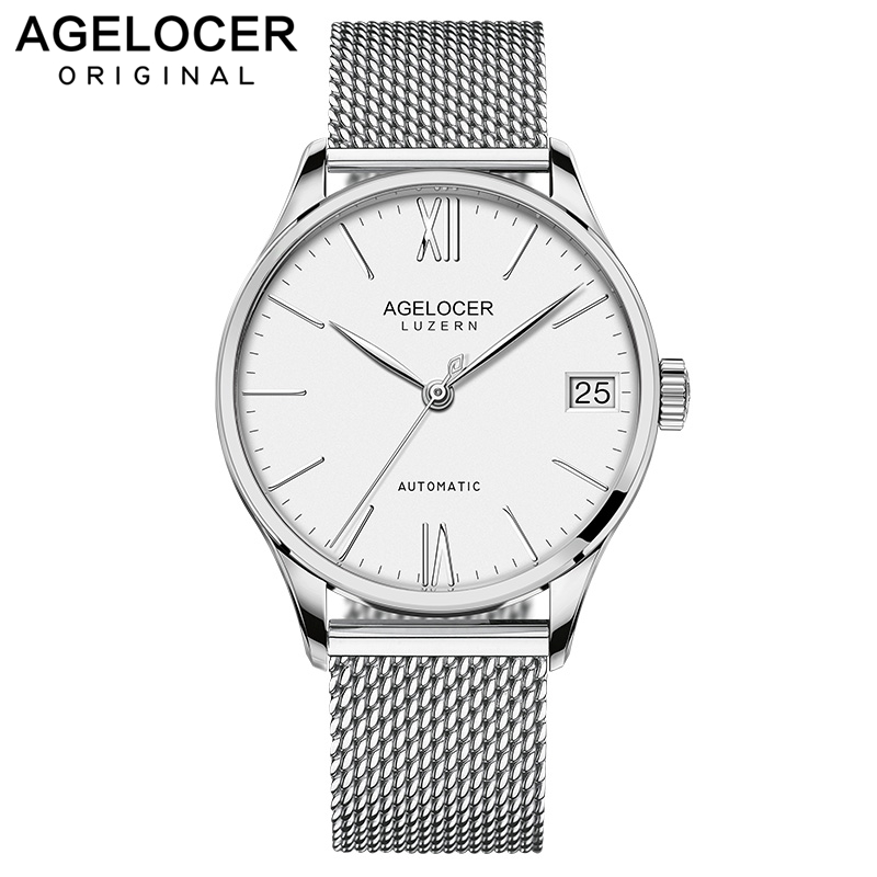 AGELOCER Top Luxury Brand Men Watch Business Fashion Casual Mens Automatic Mechanical Watches Waterproof relogio masculinoAGELOCER Top Luxury Brand Men Watch Business Fashion Casual Mens Automatic Mechanical Watches Waterproof relogio masculino