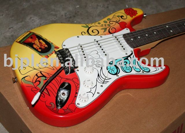 best selling New Arrival Memorial Classic Custom Electric Guitar Musical Instruments  (free shipping)