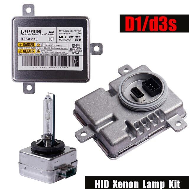 Комплект Ксеноновых Ламп D3S D1S HID, балласт для OEM W003T20171, подходит для Audi Volkswagen