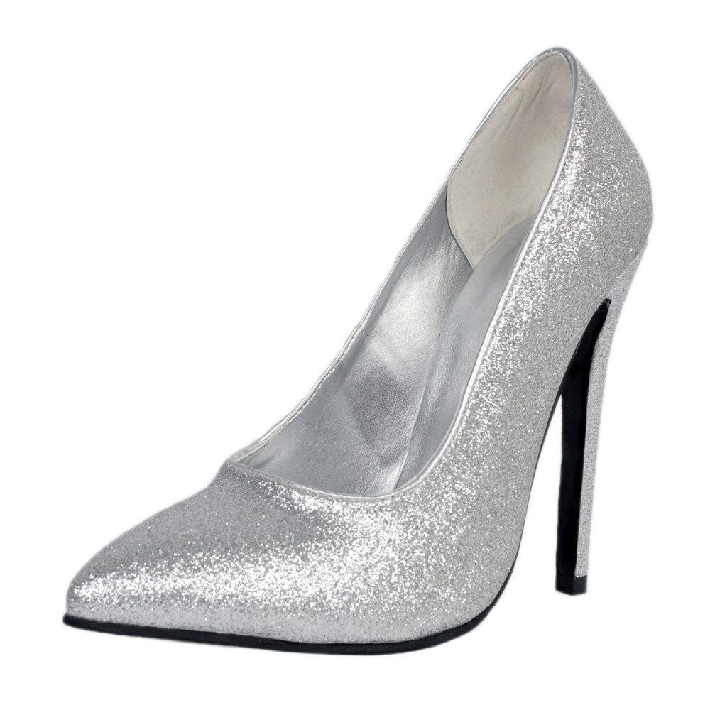 Popular Beautiful Silver Heels-Buy Cheap Beautiful Silver Heels