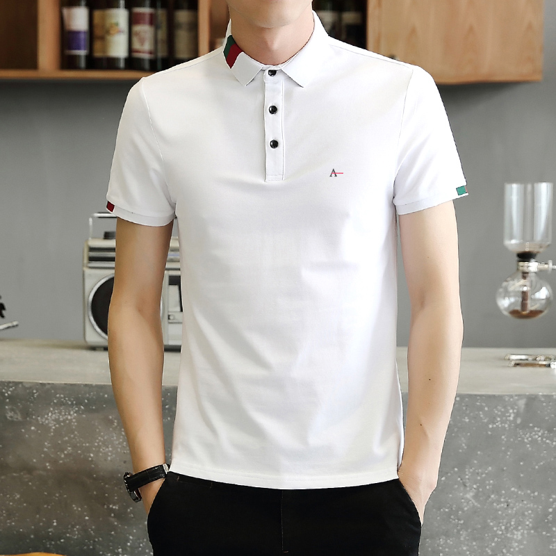 RESERVED Camisa ARAMY 2018 New Men's   Polo   Shirt Men Pure Cotton Short Sleeved   Polos   brasil Reserva Sergio K Colcci camiseta