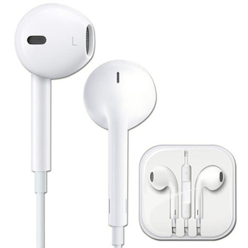 100% Genuine in-Ear earphone with Mic&Remote Original Earpods For apple iPhone 5 5S 5C 6 6plus Earpods ipod fone de ouvido