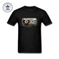 2017 Les Jeunes Adolescentes Drôle Ma Musique Vintage Bande Cassette Drôle Coton T Chemise pour hommes