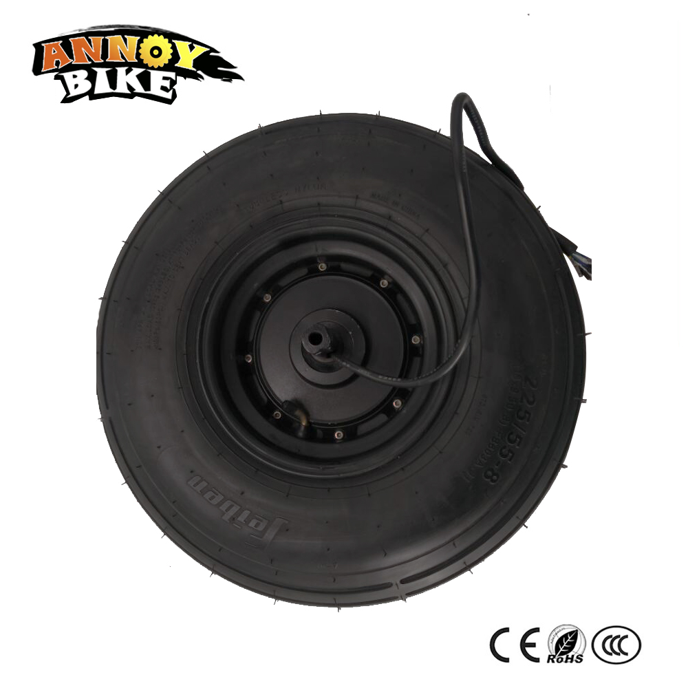 hub motor 60V1000W Harley Motor18 inch 225/55-8 Tire Vacuum Tire For Electric Motorcycle Wheel brushless non-gear electric motorcycle 60v1000w brushless non gear hub motor 225 55 8 tire vacuum tire for electric bicycle wheel motor