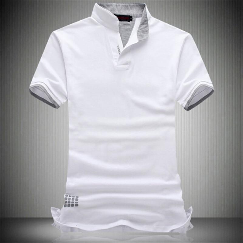 High quality business mens wear, 2017 summer short sleeve T-shirt, mens V collar, half sleeve plus big size 6XL 7XL