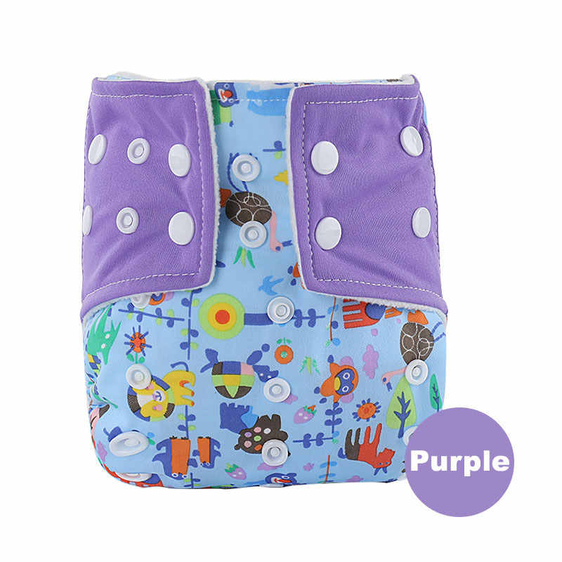 ffec7eb9b028 ... Многоразовые подгузники для новорожденных моющиеся ткани младенца  Подгузники для детей Многоразовые Детские Подгузники дышащая ...