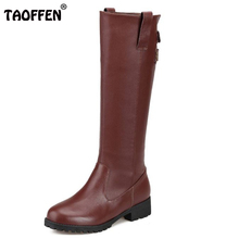 Free shipping half  short natrual genuine leather high heel boots women snow warm boot shoes R4492 EUR size 34-43