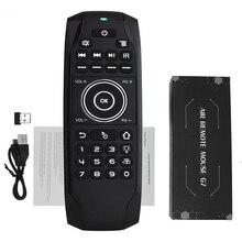 L8STAR G7 2.4GHz Smart Air Mouse Inglese Russo Tastiera A Distanza Con La Batteria Senza Fili Mini di Controllo Universale per la TV BOX h96 G30
