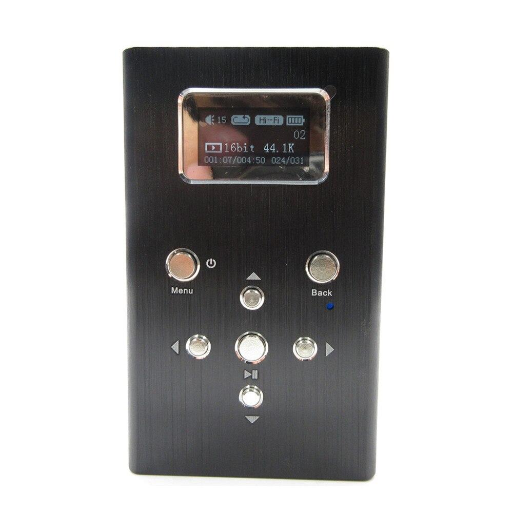 Новый Xunsound XS-01 Профессиональный Lossless музыка DIY MP3 HiFi плеера Поддержка 128 ГБ TF карты расширения и усилитель для наушников
