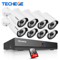4CH CCTV Camera System 4CH AHD DVR Kit 720p Cctv System 4pcs Outdoor Indoor AHD Camera