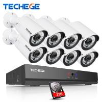 4CH CCTV Camera System 4CH AHD DVR Kit 720p Cctv System 4pcs Outdoor Indoor AHD Camera