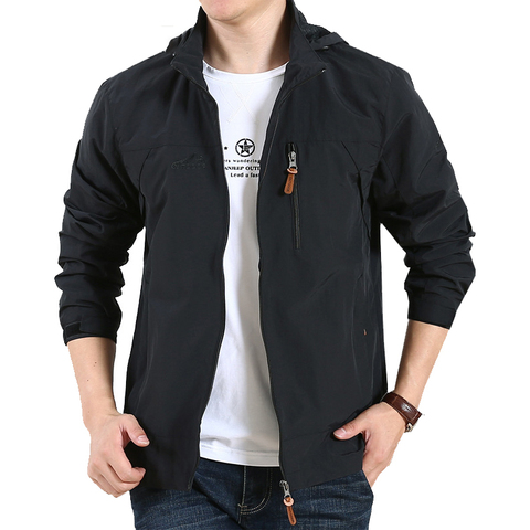 New Spring Military Jackets Men Outwear Army Quick Drying Waterproof Casual Loose Thin Jackets Mush Liner Men Jacket Size M-5XL Lahore
